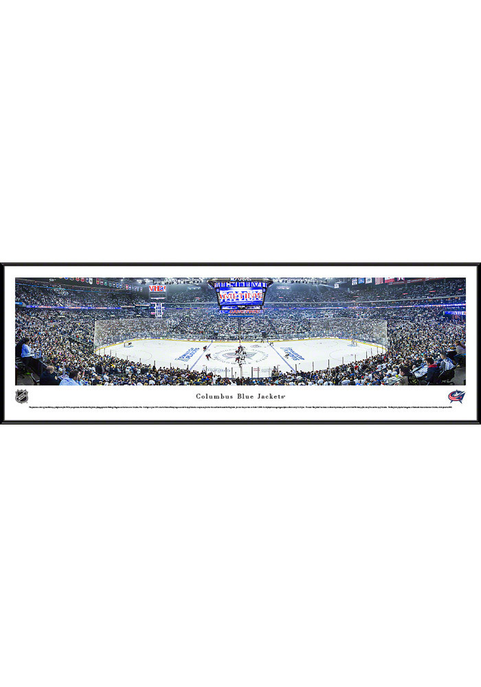 Columbus Blue Jackets Panorama Framed Posters - Image 2