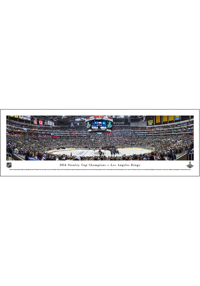 Los Angeles Kings Stanley Cup 2014 Panorama Unframed Poster 16630473