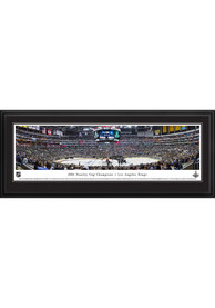 Los Angeles Kings Stanley Cup 2014 Panorama Deluxe Framed Posters