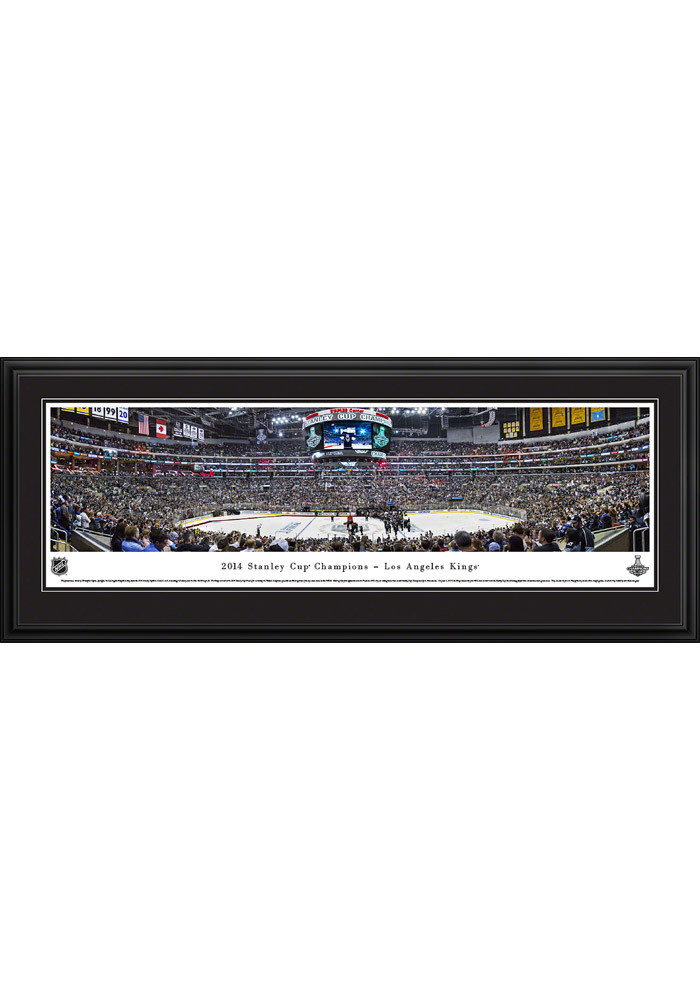 Los Angeles Kings Stanley Cup 2014 Panorama Deluxe Framed Posters - Image 2