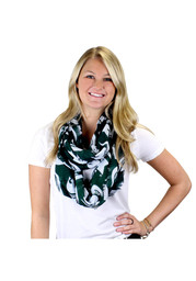 Michigan State Spartans Logo Infinity Womens Scarf