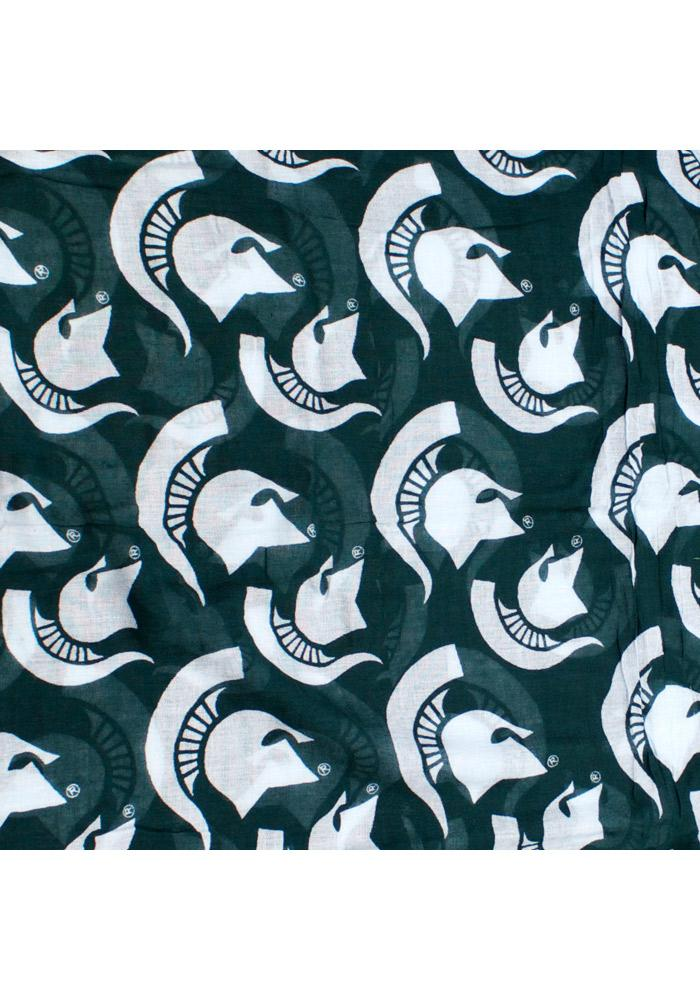 Michigan State Spartans Logo Infinity Womens Scarf - Image 3