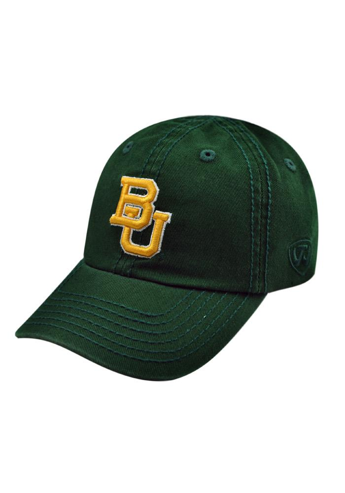 Top of the World Baylor Bears Baby Crew Adjustable Hat - Green - Image 1