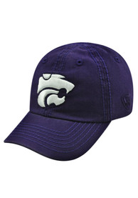 K-State Wildcats Baby Top of the World Crew Adjustable Hat - Purple