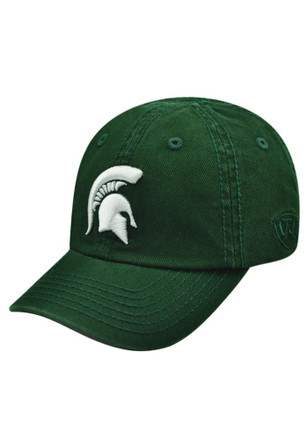 finest selection 882fd 8eaaa Top of the World Michigan State Spartans Baby Crew Adjustable Hat - Green
