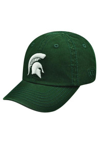 Michigan State Spartans Baby Top of the World Crew Adjustable Hat - Green