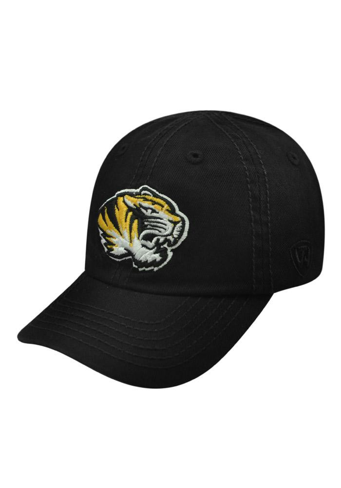 Top of the World Missouri Tigers Black Crew Infant Adjustable Hat - Image 1