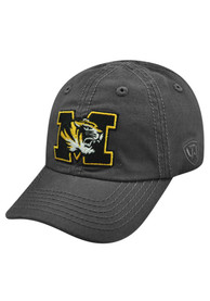 Missouri Tigers Baby Top of the World Crew Adjustable Hat - Charcoal