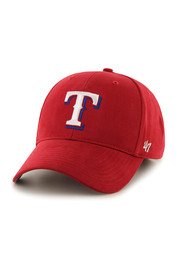 Texas Rangers Red Basic MVP Youth Adjustable Hat