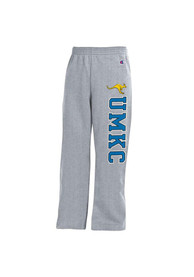 UMKC Roos Youth Grey Open Bottom Sweatpants