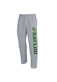 Baylor Bears Champion Down Sweatpants - Grey