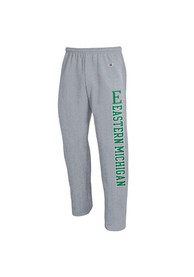 Eastern Michigan Eagles Champion Open Bottom Sweatpants - Grey