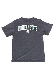 Michigan State Spartans Youth Charcoal Arch T-Shirt
