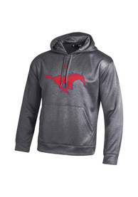SMU Mustangs Under Armour Armour Hood - Charcoal