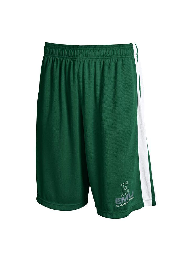 Under Armour Eastern Michigan Eagles Mens Green Aint Nuttin Shorts - Image 1