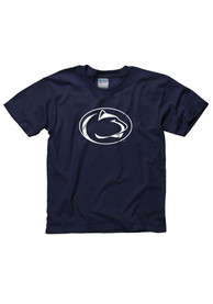 Penn State Nittany Lions Youth Navy Blue Arch Mascot T-Shirt