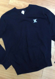 Xavier Musketeers Fashion Sweater - Navy Blue