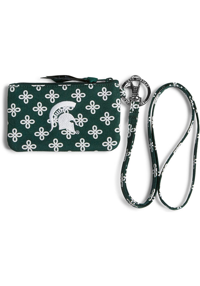 Michigan State Spartans Vera Bradley Zip ID Lanyard Womens Wallets - Image 1