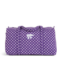 K-State Wildcats Vera Bradley Large Duffle Gym Bag - Purple