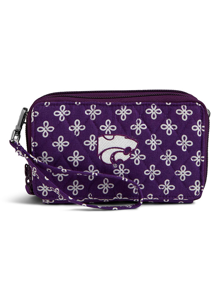 K-State Wildcats Vera Bradley All In One Crossbody Womens Purse - Image 1