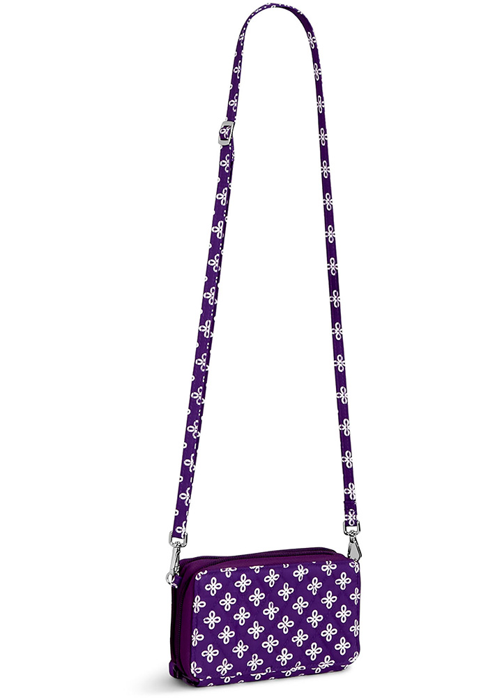 K-State Wildcats Vera Bradley All In One Crossbody Womens Purse - Image 3
