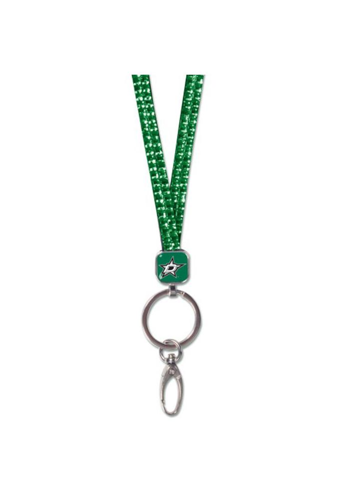 Dallas Stars Crystal Bling Lanyard - Image 1
