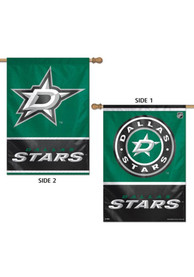 Dallas Stars 28x40 2 Sided Silk Screen Banner