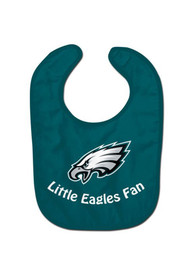 Philadelphia Eagles Baby All Pro Bib - Midnight Green