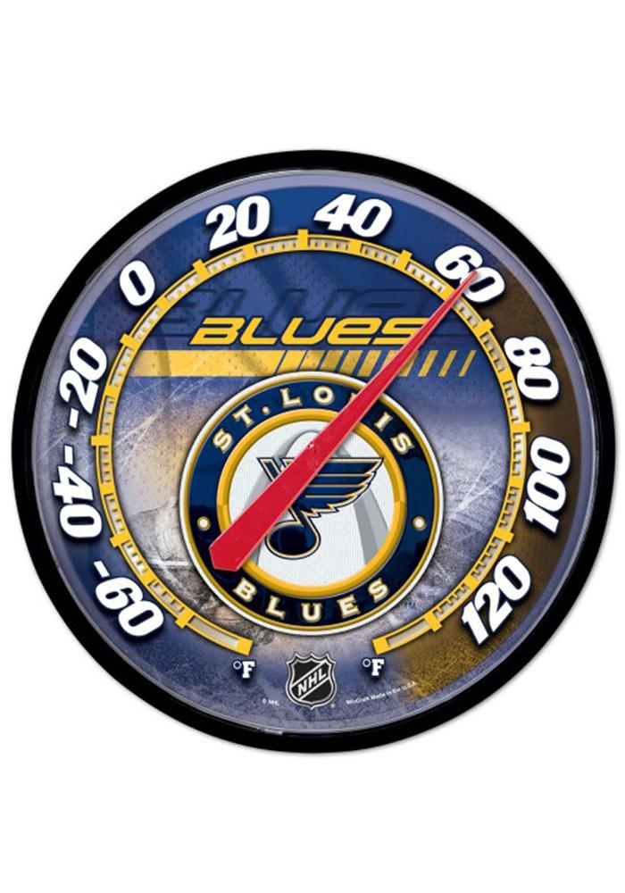 St Louis Blues Thermometer Weather Tool - Image 1