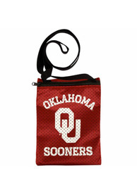 Oklahoma Sooners Womens Game Day Pouch Purse - Crimson