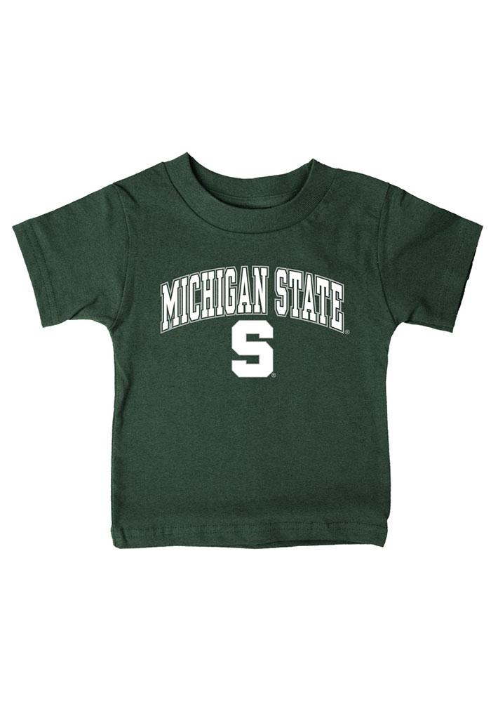 Michigan State Spartans Infant Arch T-Shirt - Green