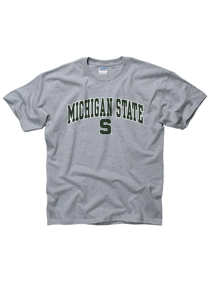 Michigan State Spartans Youth Grey Arch T-Shirt