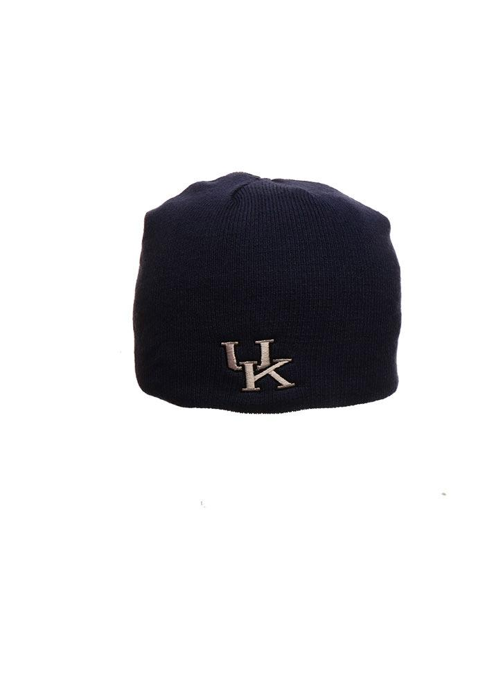 Zephyr Kentucky Wildcats Grey Edge Mens Knit Hat - Image 2