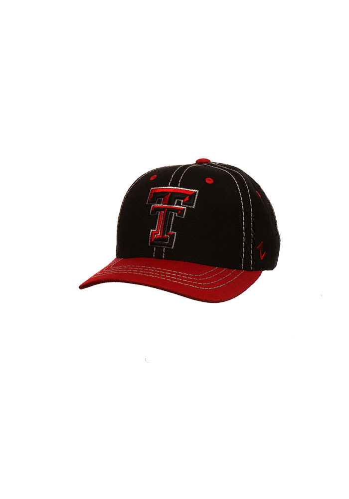 Zephyr Texas Tech Red Raiders 2 Tone Mist Adjustable Hat - Red - Image 1