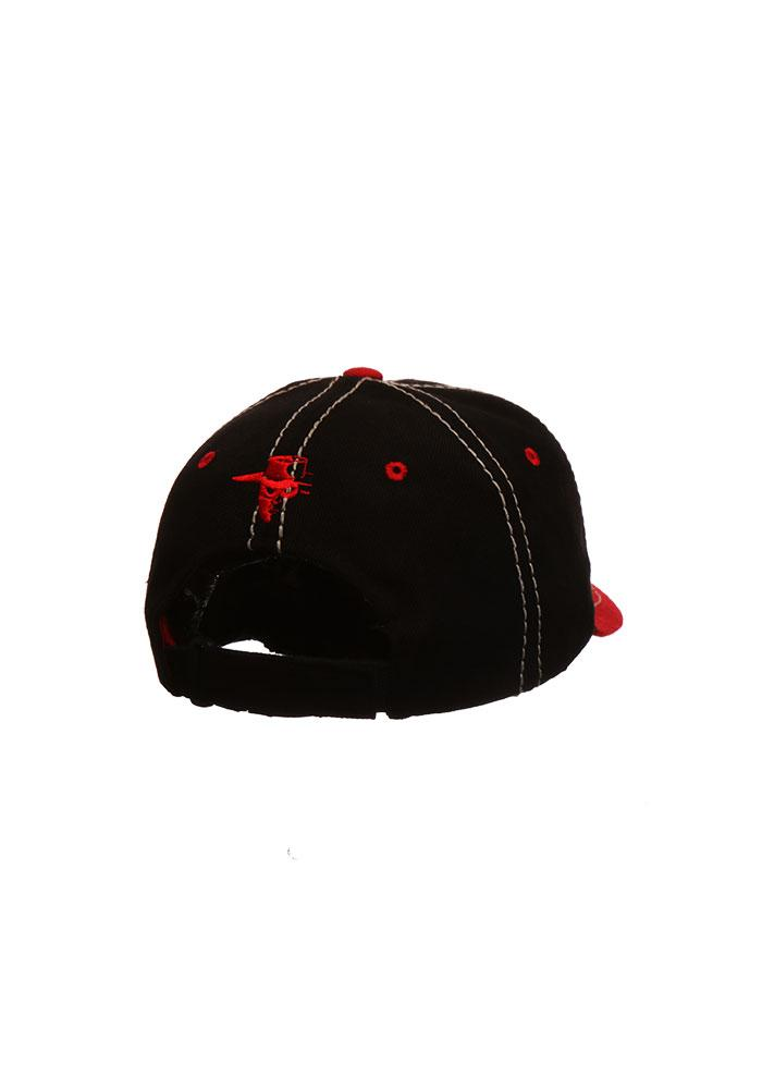 Zephyr Texas Tech Red Raiders 2 Tone Mist Adjustable Hat - Red - Image 2