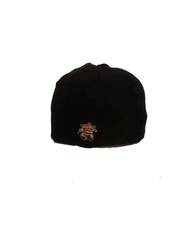Zephyr Wichita State Shockers Black Edge Mens Knit Hat - Image 2