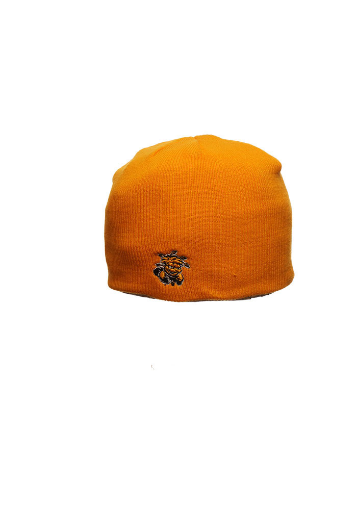 Zephyr Wichita State Shockers Yellow Edge Mens Knit Hat - Image 1