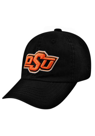Top of the World Oklahoma State Cowboys Black Crew Kids Adjustable Hat
