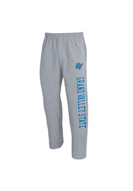 Grand Valley State Lakers Champion Open Bottom Sweatpants - Grey