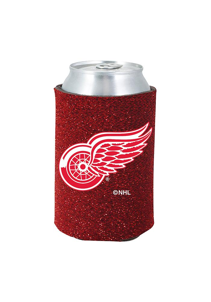 Detroit Red Wings Glitter Can Coolie