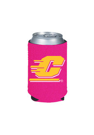 Central Michigan Chippewas Pink Can Coolie