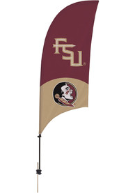 Florida State Seminoles 7.5 Foot Spike Base Tall Team Flag