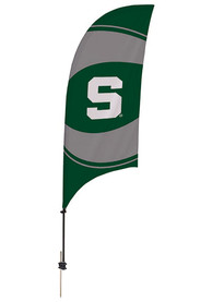 Michigan State Spartans 7.5 Foot Spike Base Tall Team Flag