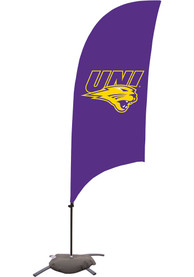 Northern Iowa Panthers 7.5 Foot Cross Base Tall Team Flag