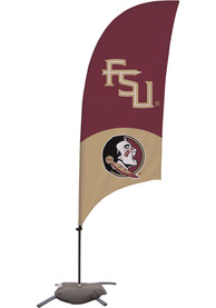 Florida State Seminoles 7.5 Foot Cross Base Tall Team Flag