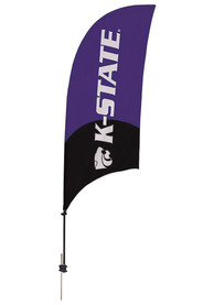 K-State Wildcats 7.5 Foot Spike Base Tall Team Flag
