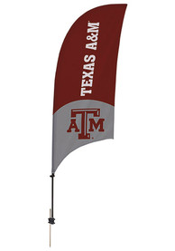 Texas A&M Aggies 7.5 Foot Spike Base Tall Team Flag