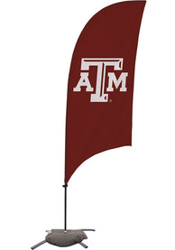 Texas A&M Aggies 7.5 Foot Cross Base Tall Team Flag