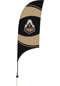 Purdue Boilermakers 7.5 Foot Spike Base Tall Team Flag
