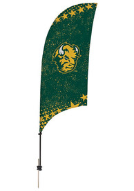 North Dakota State Bison 7.5 Foot Spike Base Tall Team Flag
